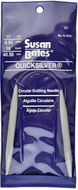 "Susan Bates Quicksilver 16"" Circular Knitting Needle (8 mm)"