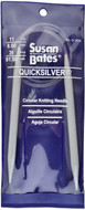 "Susan Bates Quicksilver 36"" Circular Knitting Needle (8 mm)"