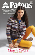 """Patons Patons Classic Wool Dk Superwash """"Classic Colors"""""""