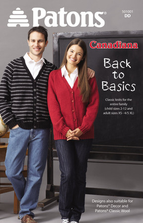 "Patons Patons Canadiana ""Back To Basics"""