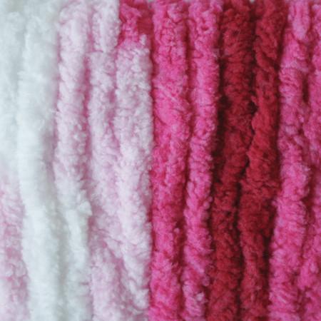 Bernat Raspberry Ribbon Varg Blanket Yarn - Big Ball (6 - Super Bulky)