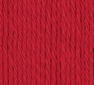 Bernat Red Handicrafter Cotton Yarn - Small Ball (4 - Medium)