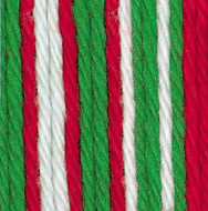 Bernat Mistletoe Ombre Handicrafter Cotton Yarn - Small Ball (4 - Medium)