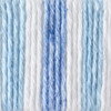 Bernat Tie Dye Stripes Handicrafter Cotton Yarn - Small Ball (4 - Medium)