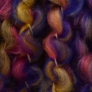 Lion Brand Tanzanite Stripes Homespun Thick & Quick Yarn (6 - Super Bulky)