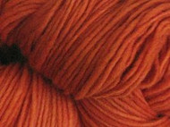 Malabrigo Glazed Carrot Merino Worsted Yarn (4 - Medium)