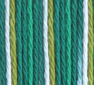 Bernat June Bug Ombre Handicrafter Cotton Yarn - Big Ball (4 - Medium)