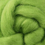 Felting Wool Lime Felting Wool