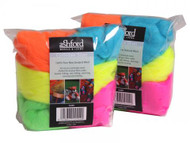 Felting Wool Fluorescent Felting Wool - 7 Color Variety Pack