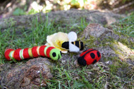 Felting Wool Bugs Needle Felting Kit (Incl. Instructions, Sliver And One Needle. Foam Block Sold Seperately)