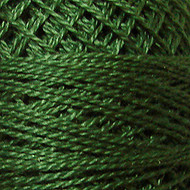 Valdani Forest Green Perle Cotton - Size 12 (Thread)