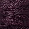 Valdani Rich Plum Perle Cotton - Size 12 (Thread)