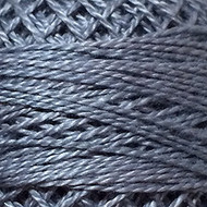 Valdani Medium Gray Perle Cotton - Size 12 (Thread)