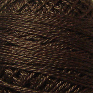 Valdani Rich Brown Dark Perle Cotton - Size 12 (Thread)