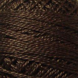 Valdani Rich Brown Dark Perle Cotton - Size 12 (Thread)
