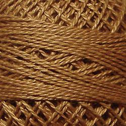 Valdani Taupe Perle Cotton - Size 12 (Thread)