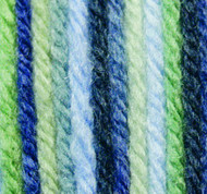 Phentex Blue Grass Ombre Worsted Yarn (4 - Medium)