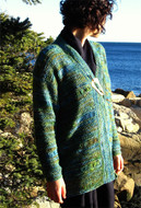 Ilga Leja Handknit Design Shorelines Jacket Pattern