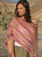 Ilga Leja Handknit Design Desert Blossom Shawl Pattern