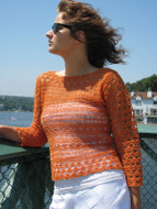 Ilga Leja Handknit Design California Dreamin' Shirt Pattern