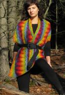 Ilga Leja Handknit Design Earth Maiden Wrap Pattern