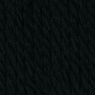 Phentex Black Worsted Yarn (4 - Medium)