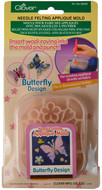 Clover Butterfly Needle Felting Mold