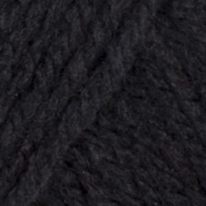 Red Heart Yarn Black Classic Yarn (4 - Medium)