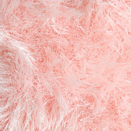 Lion Brand Soft Pink Fun Fur Yarn (5 - Bulky)