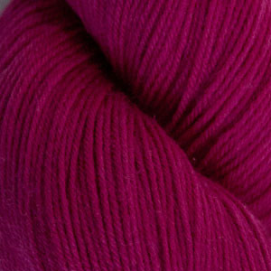 Cascade Fuschia Heritage Sock Solid Yarn (1 - Super Fine)