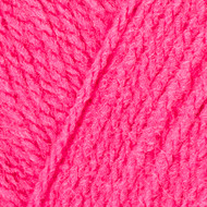 Red Heart Hot Pink Comfort Sport Yarn (3 - Light)