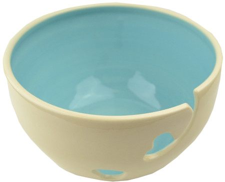 Madeleine Coomey Blue Ceramic Yarn Bowl