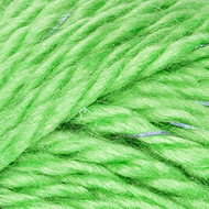 Red Heart Yarn Neon Green Reflective Yarn (5 - Bulky)