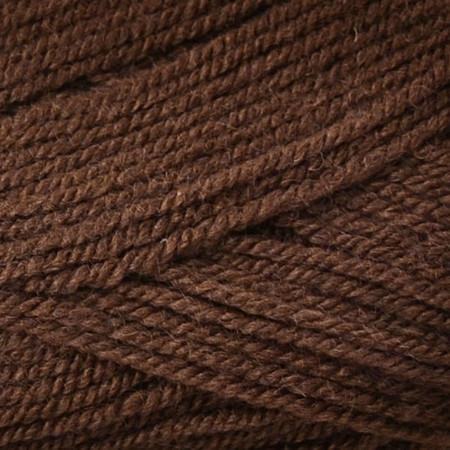 Plymouth Deep Brown Encore Worsted Yarn (4 - Medium)