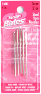 "Susan Bates 5-Pack 2"" (5 cm) Steel Yarn Needles"