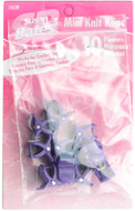 Susan Bates 10-Pack Mini Knit Klips (Purple)