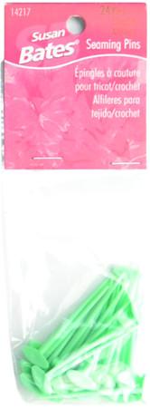 Susan Bates 24-Pack Seaming Pins (Green)
