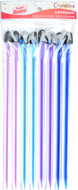 Susan Bates 8-Pack Crystalites Acrylic Single Point Knitting Needles (Sizes 5 mm - 6.5 mm)