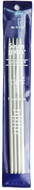 """Susan Bates Quicksilver 4-Pack 7"""" Double Point Knitting Needles (Size US 7 - 4.5 mm)"""