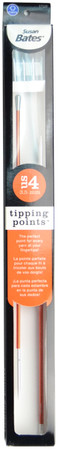 """Susan Bates Tipping Points 10"""" Single Point Knitting Needle (Size US 4 - 3.5 mm)"""
