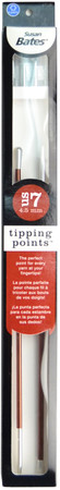 """Susan Bates Tipping Points 10"""" Single Point Knitting Needle (Size US 7 - 4.5 mm)"""
