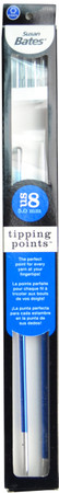 """Susan Bates Tipping Points 10"""" Single Point Knitting Needle (Size US 8 - 5 mm)"""