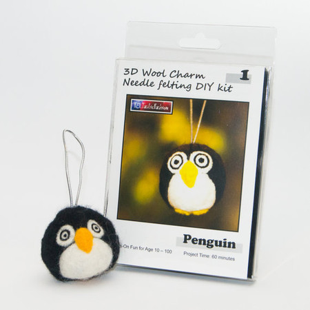 Feltastic Fashion Penguin Diy Felting Kit