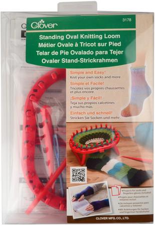 Clover Standing Oval Knitting Loom