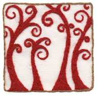"Wool & Hoop Ruby Shoots Crewel Embroidery Kits (3"" X 3"")"