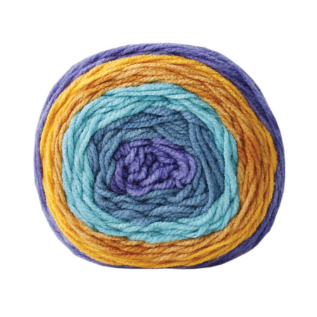 Bernat Gold Rush River Pop Yarn (4 - Medium)
