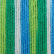 Bernat Emerald Energy Ombre Handicrafter Cotton Yarn - Big Ball (4 - Medium)