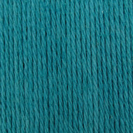 Bernat Teal Handicrafter Cotton Yarn - Small Ball (4 - Medium)