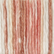 Lily Sugar 'n Cream Natural Stripes Lily Sugar 'n Cream Yarn - Small Ball (4 - Medium)