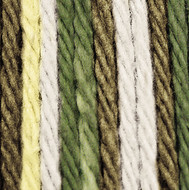 Lily Sugar 'n Cream Wooded Moss Ombre Lily Sugar 'n Cream Yarn - Super Size (4 - Medium)